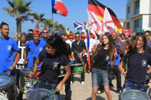 Parade des nations EUROSURF 2015